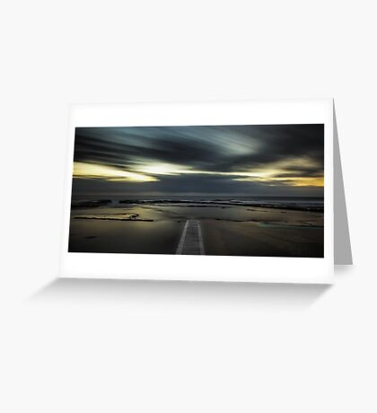 Surreal Narrabeen Greeting Card