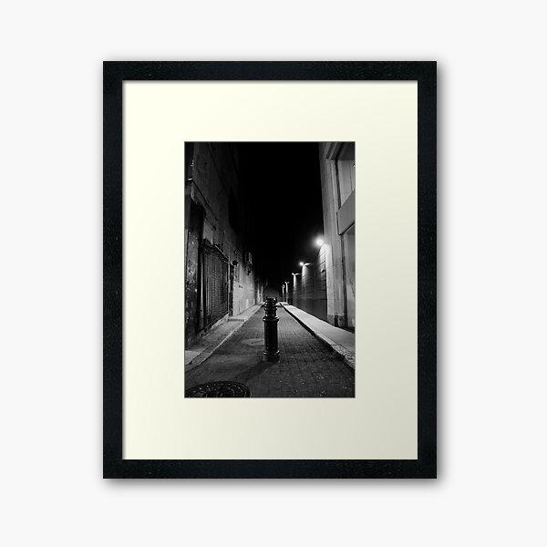 Pole Framed Art Print