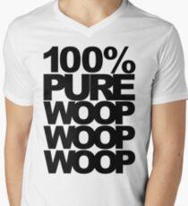 100% Pure Woop Woop Woop (light) Men's V-Neck T-Shirt