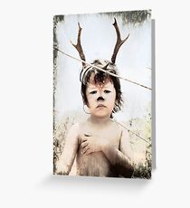 Forrest the fawn Greeting Card
