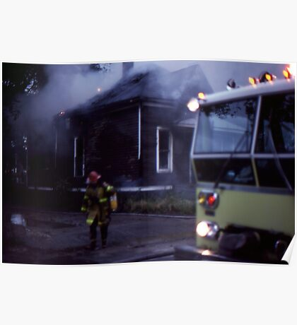 Fire in Detroit 1978 Poster
