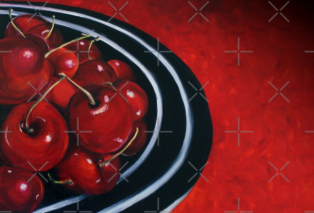 Cherries on Your Plate by Sarah  Mac