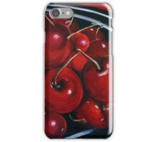 Cherries on Your Plate iPhone Case/Skin