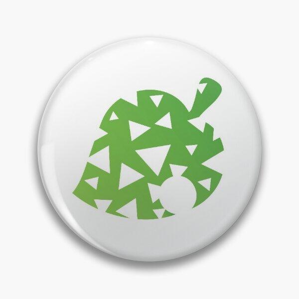 Animal Crossing Leaf Pattern Pin
