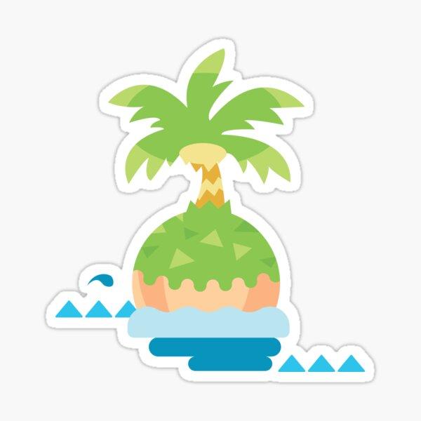 AC NH Island Loading Screen Sticker