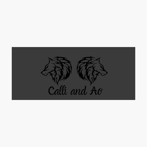 Calli and Ao Photographic Print