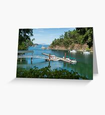 Tod Inlet, Vancouver Island Greeting Card