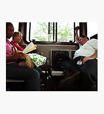Another Day on the bus Photographic Print