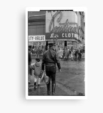 Leathers on Young Street 1969 Canvas Print