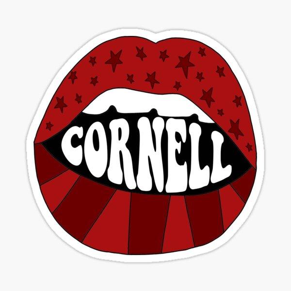 Cornell Lip Sticker