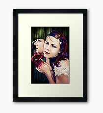 looking glass logic Framed Print