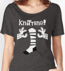 Knitting!  Women's Relaxed Fit T-Shirt