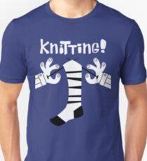 Knitting!  Unisex T-Shirt