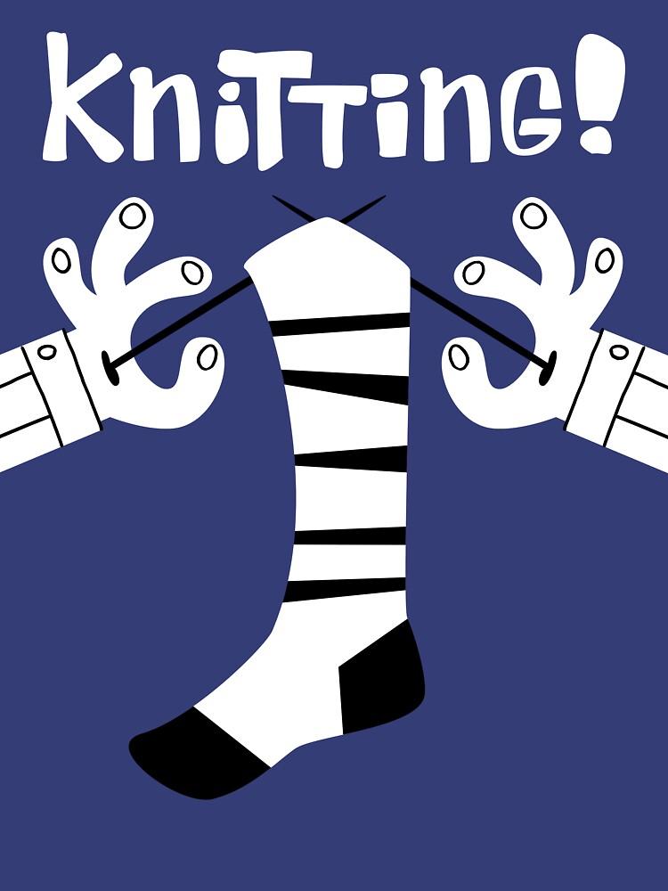 Knitting!  | Women's T-Shirt