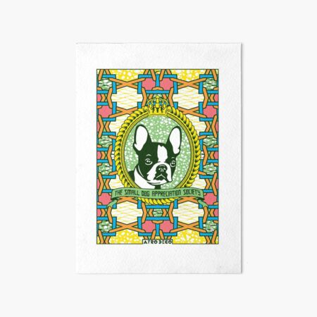 BOSTON TERRIER Art Board Print