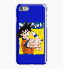 We can fight it! iPhone Case/Skin