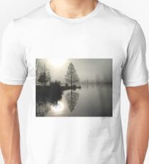 Cypress in the Fog  Unisex T-Shirt
