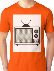 Retro Tv Unisex T-Shirt