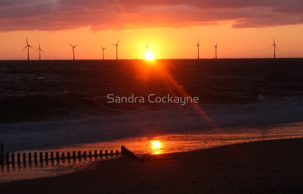 Red Sky In The Morning by Sandra Cockayne