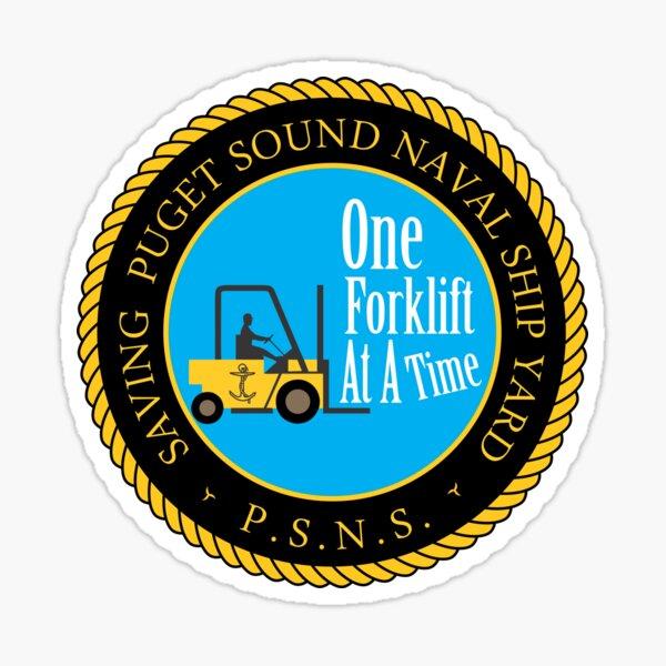 Puget Sound Naval Shipyard  Sticker