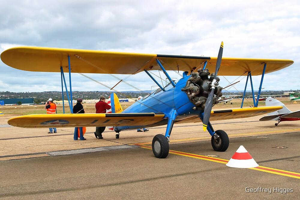 Boeing Steerman Kaydet Training Aircraft by Geoffrey Higges