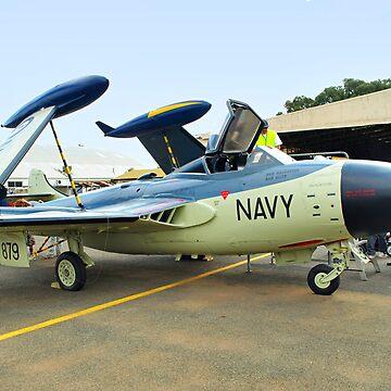 De Havilland Sea Venom by gigges