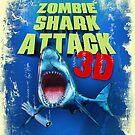 Zombie Shark Attack by robotrobotROBOT