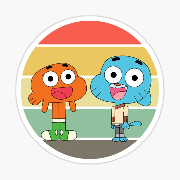 Gumball and Darwin The amazing world of Gumball Sticker