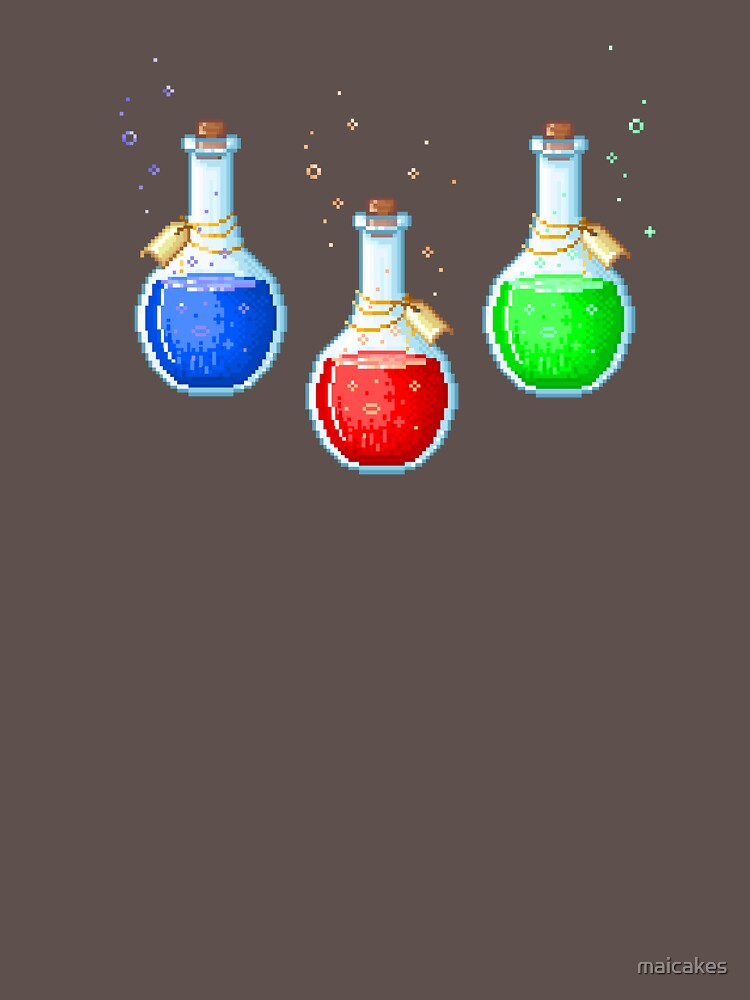 Pixel Potions by maicakes