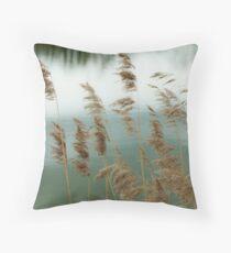 Reeds Coloured Throw Pillow