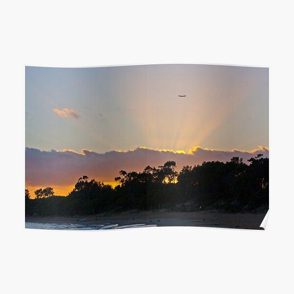 Jibbon Beach Sunrise Poster