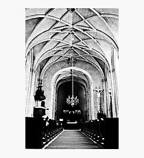 Chateau Chapel Photographic Print