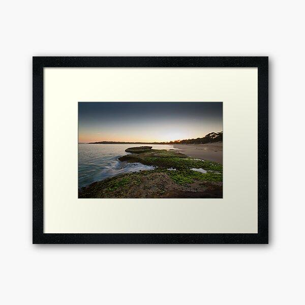 Jibbon Beach Sunrise Nov Framed Art Print