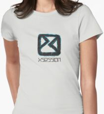 Sketchy - Black Women's Fitted T-Shirt