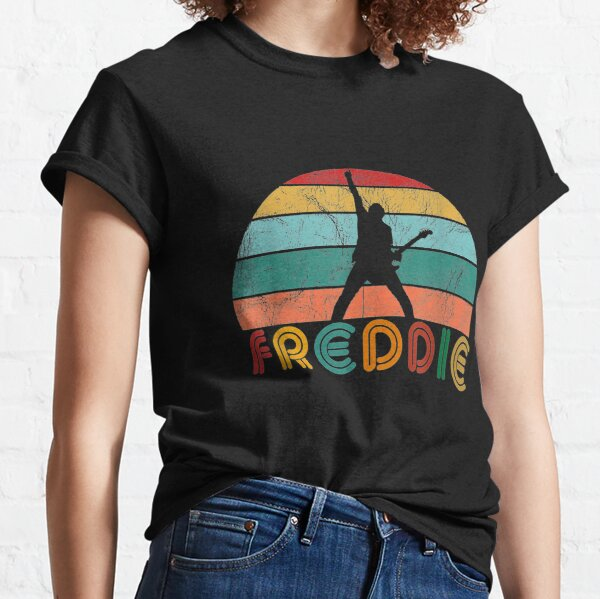 Freddie Vintage Music Mercurys Mens Womens Classic T-Shirt
