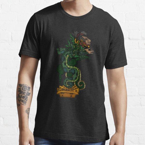 Mayan Serpent God Essential T-Shirt