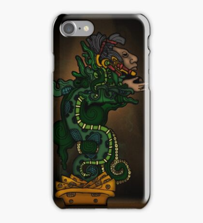 Mayan Serpent God iPhone Case/Skin