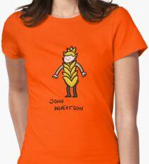 John Wheatson Womens Fitted T-Shirt