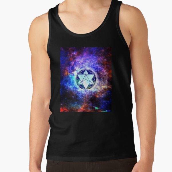 Sacred Geometry Merkaba Abstract Tank Top