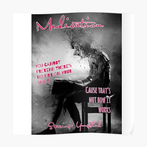 Yungblud Medication Poster