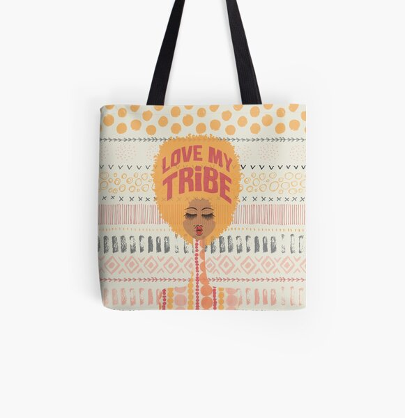 Love My Tribe All Over Print Tote Bag