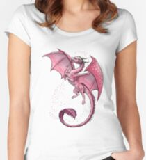 The Dragon of Spring Women's Fitted Scoop T-Shirt