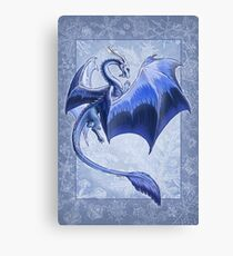 The Dragon of Winter Canvas Print