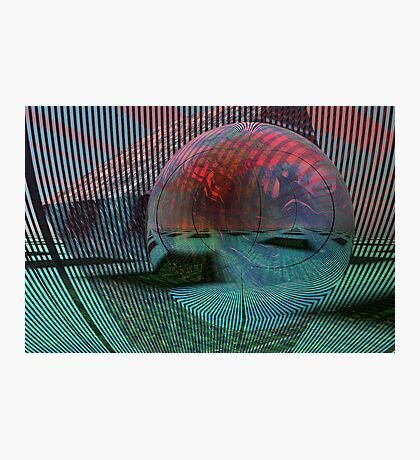 Relativity of a sphere // Calculus Photographic Print