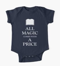 All Magic Comes With A Price One Piece - Short Sleeve