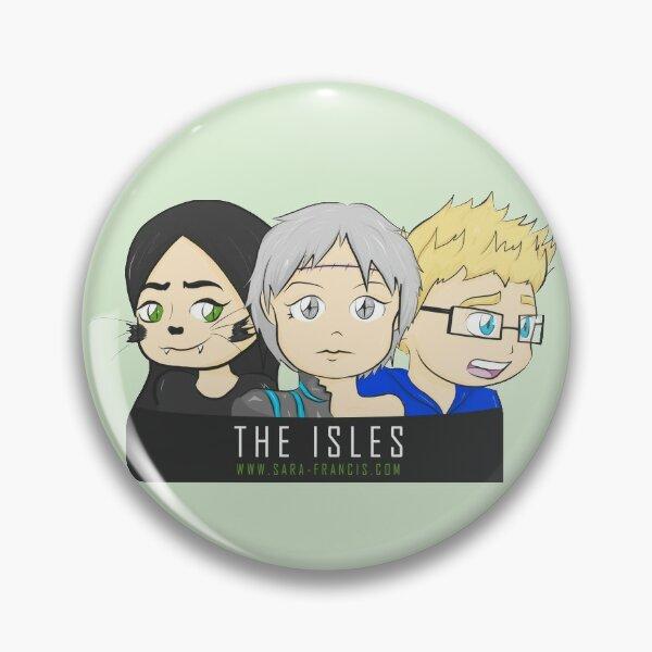 THE ISLES - 3 Member Design Pin