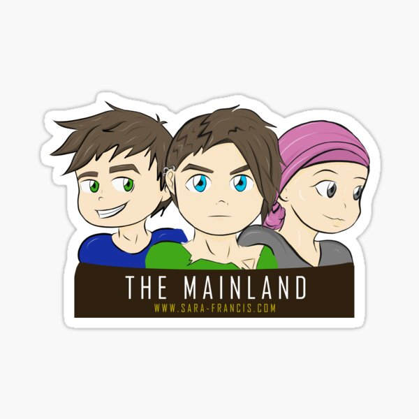 THE MAINLAND - 3 Member Design Sticker