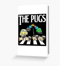 The Pugs Greeting Card