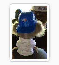 A Blue Jays Fan Sticker