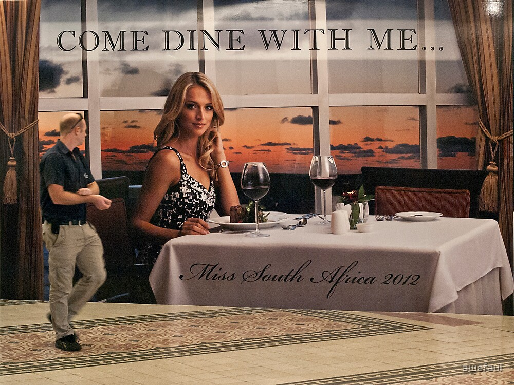 Come dine with me by awefaul
